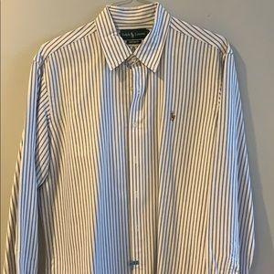 Polo Ralph Lauren Long-Sleeve Striped Oxford Shirt